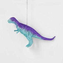 Glitter Dinosaur Christmas Tree Ornament Purple - Wondershop™ | Target