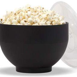 W&P Microwave Silicone Popcorn Popper Maker | Black | Collapsible Bowl, BPA Free, Eco-Friendly, W... | Amazon (US)