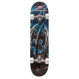 Punisher Skateboards Warrior 31-in. ABEC-7 Complete Skateboard | Kohl's