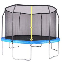 Airzone 12' Trampoline, with Enclosure, Blue | Walmart (US)