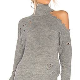 Lovers + Friends Arlington Sweater in Heather Grey from Revolve.com | Revolve Clothing (Global)