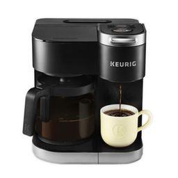 Keurig® K-Duo Single-Serve & Carafe Coffee Maker in Black | Bed Bath & Beyond