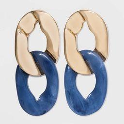 SUGARFIX by BaubleBar Miniature Linked Earrings - Medium Blue   Target