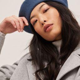 John Lewis & Partners Wool Rich Beret Hat | John Lewis (UK)