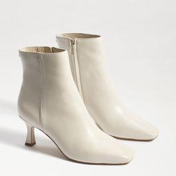 Sam Edelman Lizzo Kitten Heel Bootie Modern Ivory | Sam Edelman