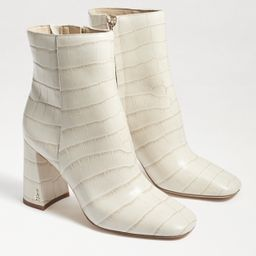 Sam Edelman Codie Ankle Bootie Modern Ivory Croco | Sam Edelman