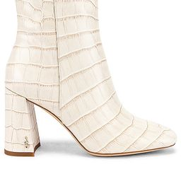 Sam Edelman Codie 2 Bootie in Ivory. - size 10 (also in 8) | Revolve Clothing (Global)