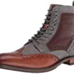 STACY ADAMS mens Finnegan Wingtip Lace-up Fashion Boot, Cognac Multi, 11.5 US   Amazon (US)