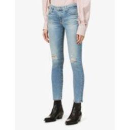 Prima Crop skinny mid-rise jeans   Selfridges