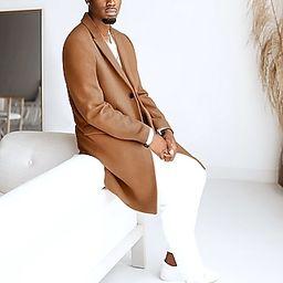 Express X You Camel Wool-Blend Top Coat   Express