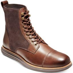 Cole Haan Men's Original Grand Cap-Toe Ii Boots Men's Shoes   Macys (US)