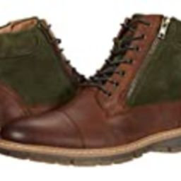 STACY ADAMS mens Griffyth Cap Toe Zipper Chukka Boot, Brown and Olive, 14 US   Amazon (US)