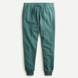 Garment-dyed french terry jogger sweatpant   J.Crew US