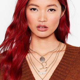 Womens In the Right Direction Layered Necklace - Gold | NastyGal (US & CA)