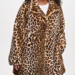 Calvin Klein Plus Size Leopard Faux-Fur Coat   Macys (US)