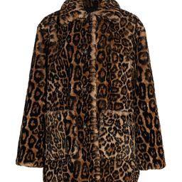 A.L.C. Women's Bolton Leopard Print Faux Fur Coat - Leopard - Size XS   Saks Fifth Avenue