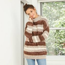 Women's Mock Turtleneck Tunic Pullover Sweater - Universal Thread™   Target