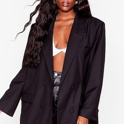 Not Our Business Plus Oversized Blazer | NastyGal (US & CA)