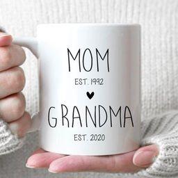 Mom Grandma 2  Fist Time Grandma Gift New Grandma Gift | Etsy | Etsy (US)