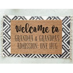 Welcome to Grandma and Grandpa's Admission One Hug   Etsy   Etsy (US)