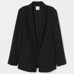 H & M - Long Jacket - Black | H&M (US)