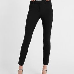 High Waisted Supersoft Twill Skinny Pant Black Women's 16 | Express