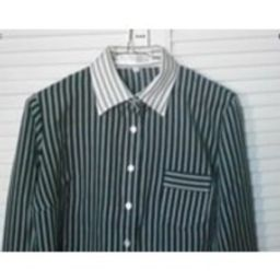 Ladies Vintage Black/White Striped Shirt/Blouse. Size 14 | Etsy (US)
