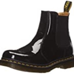 Dr. Martens Women's 2976 Chelsea Boot, Black, 9 Regular UK (11 US) | Amazon (US)