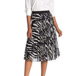 Know One Cares Pleated Mesh Midi Skirt at Nordstrom Rack | Nordstrom Rack