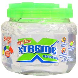 (2 Pack) Wet Line Xtreme Professional Extra Hold Styling Gel, 35.26 oz | Walmart (US)