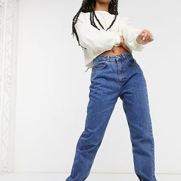 Reclaimed Vintage The '91 mom jean in dark stone wash-Blue | ASOS (Global)