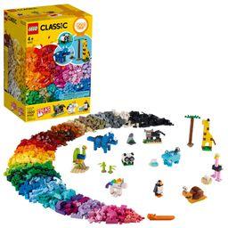 LEGO Classic Bricks and Animals 11011 Creative Toy That Builds into 10 Amazing Animal Figures (1,... | Walmart (US)
