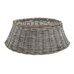 Home Accents Holiday 27 in Rattan Tree Collar | The Home Depot