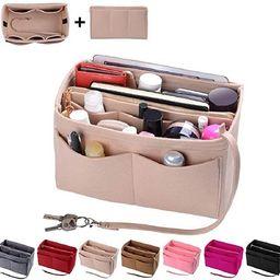 Purse Organizer Insert, Felt Bag organizer with zipper, Handbag & Tote Shaper, For Speedy Neverfu...   Amazon (US)