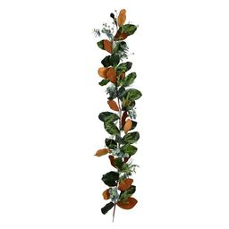 "Vickerman 72"" Artificial Green Magnolia Leaf Garland.   Target"
