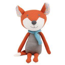Peanut Shell Francis the Fox Knit Plush   Target