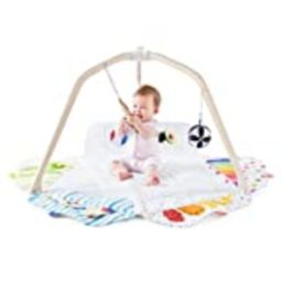 The Play Gym by Lovevery; Stage-Based Developmental Activity Gym & Play Mat for Baby to Toddler | Amazon (US)