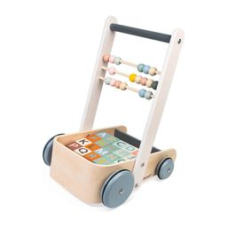 Janod Sweet Cocoon Cart with ABC Blocks | Maisonette