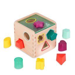 B. toys Wooden Shape Sorter - Wonder Cube | Target