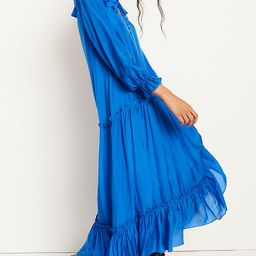 Aubriana Ruffled Maxi Dress   Anthropologie (US)