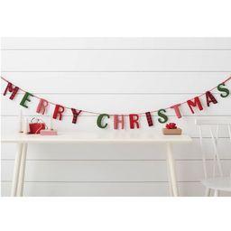 Merry Christmas Garland Red - Wondershop™   Target