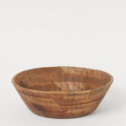 Wooden Bowl | H&M (US)