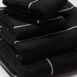 Striped Bath Towel | H&M (US)