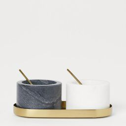 Stone Salt and Pepper Bowls | H&M (US)