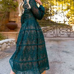 Sicily Dress in Hunter Green   Ivy City Co