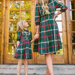 Mini Noel Plaid Dress   Ivy City Co