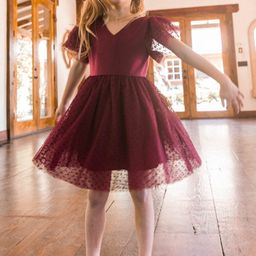 MINI PARTY DRESS IN WINE   Ivy City Co