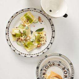 Bistro Tile Dinner Plates, Set of 4 | Anthropologie (US)