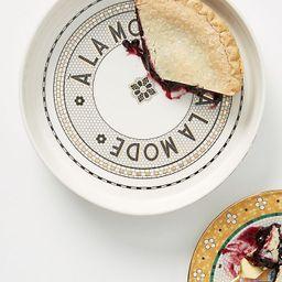 Bistro Tile A La Mode Pie Dish | Anthropologie (US)