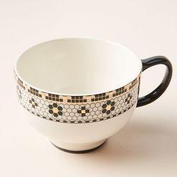 Bistro Tile Mugs, Set of 4 | Anthropologie (US)